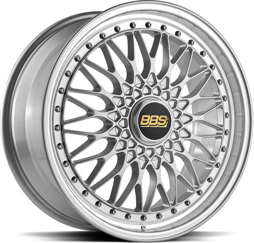BBS Super RS Brilliant Silver